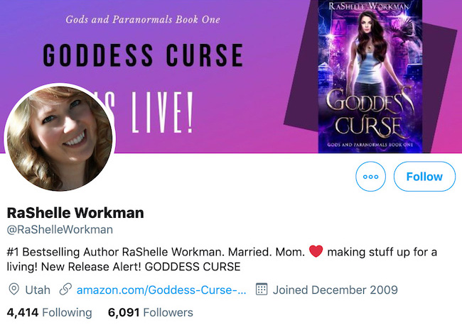 RaShelle Workman Twitter Header
