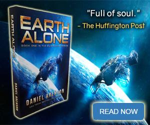 Earth Alone BookBub Ad