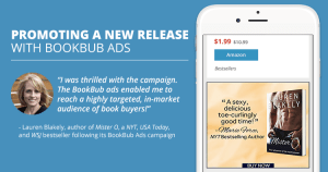 Promoting a New Release with BookBub Ads