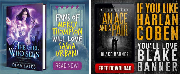 for fans of dima zales blake banner bookbub ads target readers