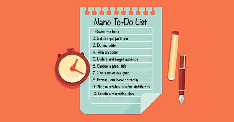 NaNoWriMo To-Do List
