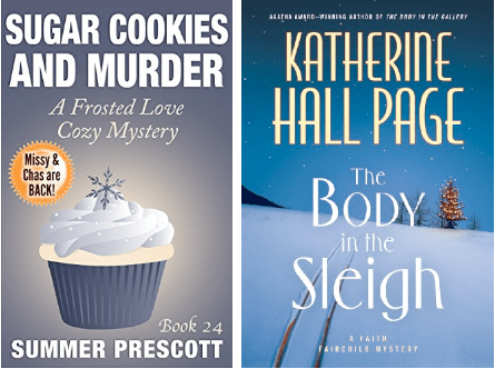 Cozy Mystery Book Covers