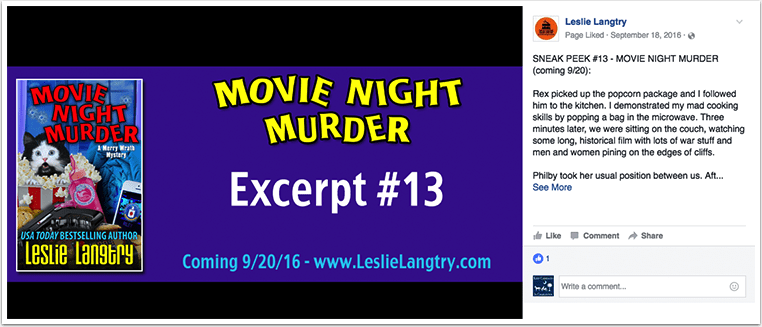 Movie Night Murder Example