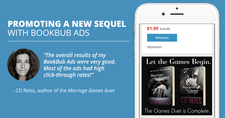 Promoting a New Sequel with BookBub Ads