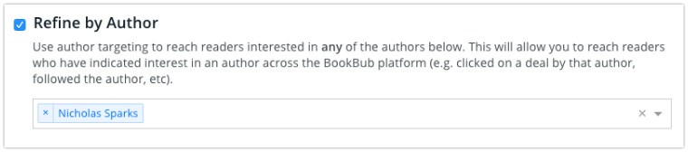 BookBub Ads Targeting