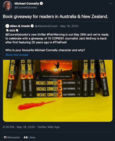 Australia Book Giveaway