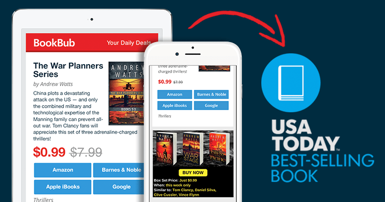 How I Became a Bestseller Using BookBub's Marketing Tools