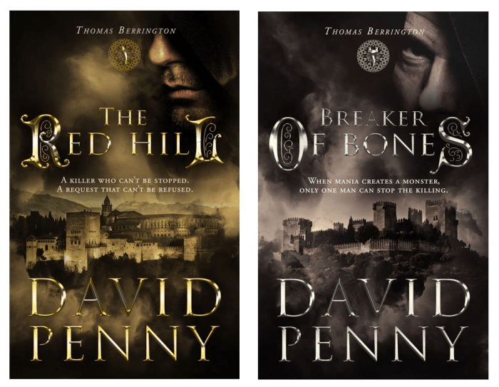 David Penny Book Covers - Redesigned Covers