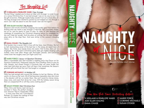 The Naughty List anthology for ways to sell more books for the holidays