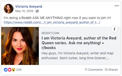 ask me anything redddit book promotion