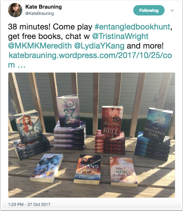 Kate Brauning's tweet