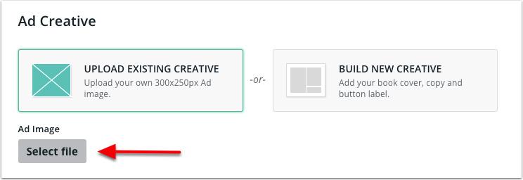 BookBub Ads - Select File