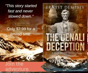 BookBub Ad: The Denali Deception