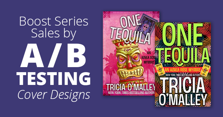 How I Boosted Series Sales by A/B Testing Cover Designs
