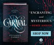 BookBub Ad example Caraval