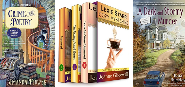 Cozy Mysteries Trends - Bookish mysteries