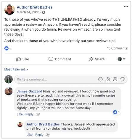 facebook request battles get reader reviews