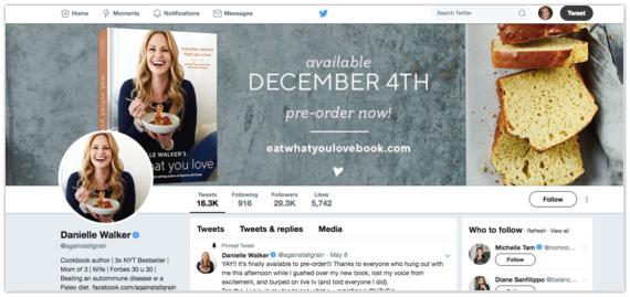 Preorder book Twitter header