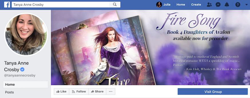 Tanya Anne Crosby Facebook Page