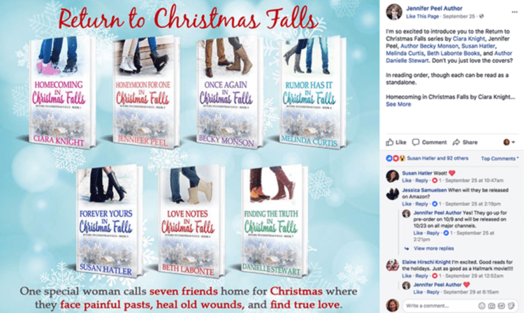 Ways to Sell More Books for the Holidays Return to Christmas Falls