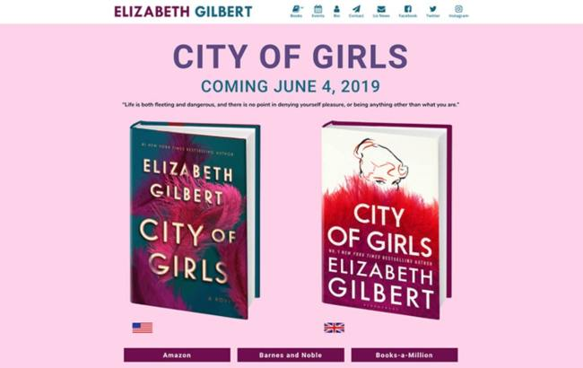 Cover Reveal Checklist Elizabeth Gilbert