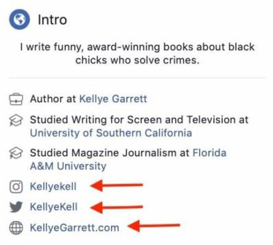 Ways Authors Use Facebook Pages Promote Their Books Kellye Garrett