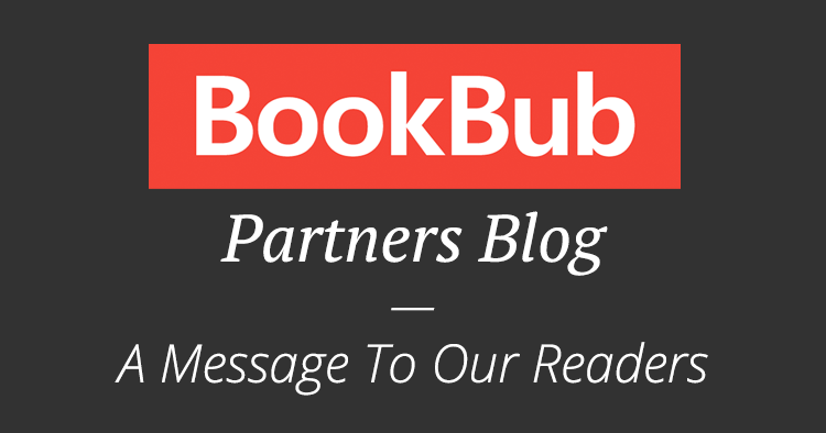 A Message From the BookBub Partners Blog