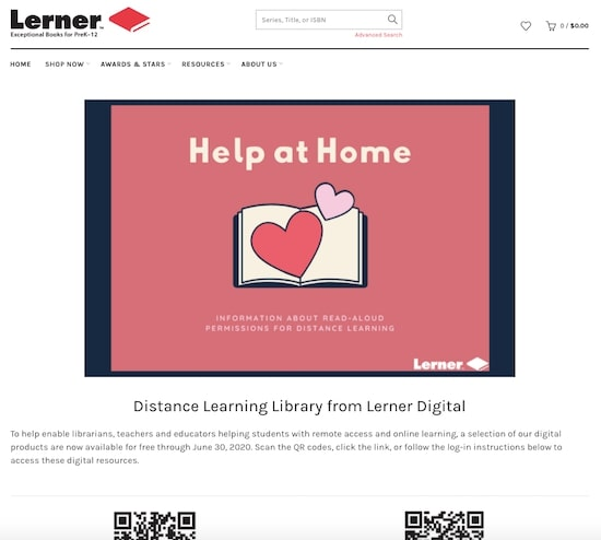 Lerner Publishing Group free content