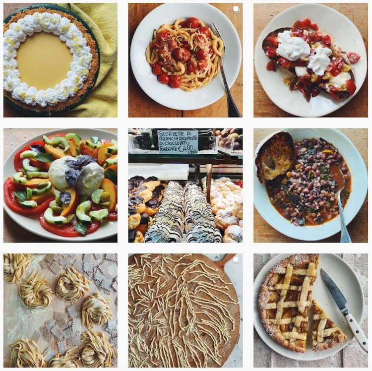 Cooking Instagram Feed