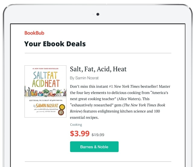 Salt, Fat, Acid, Heat Ebook Deal