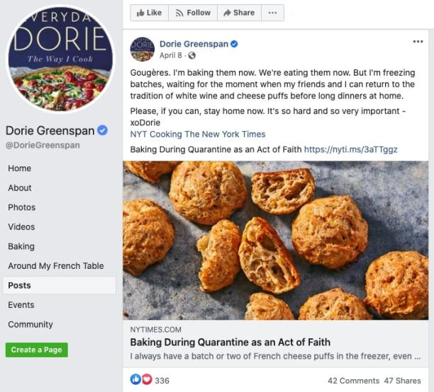 Sharing Recipes With Large Publications