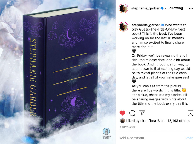Author Instagram Game