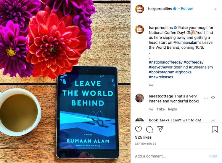 Vibrant Prop Bookstagram
