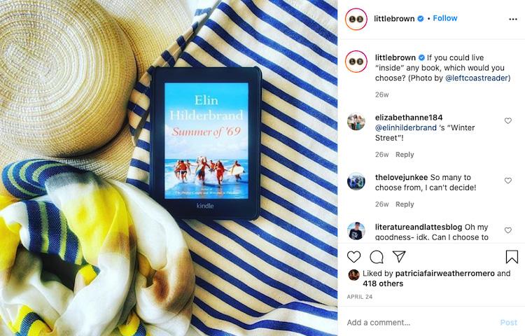 Summery Feel Bookstagram
