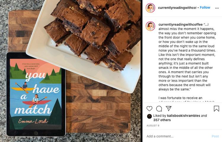 Food Bookstagram