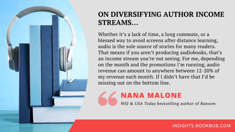 Audiobook publishing tip from Nana Malone