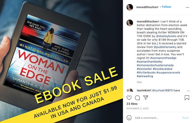 Promote BookBub Deals 1