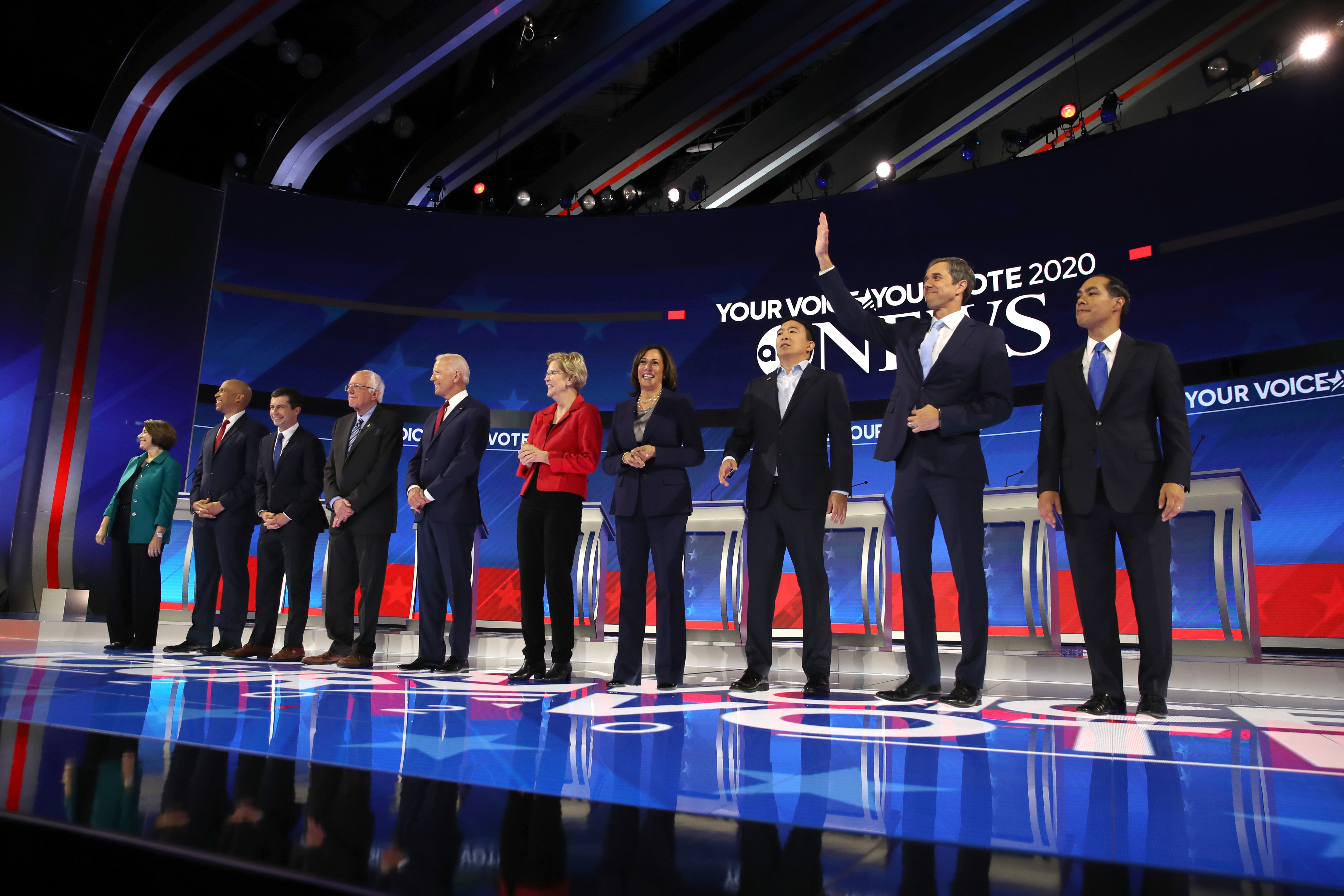 Which Democratic Presidential Candidates Receive the Most Media Attention?