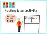 Agile QA - Testing is an activity