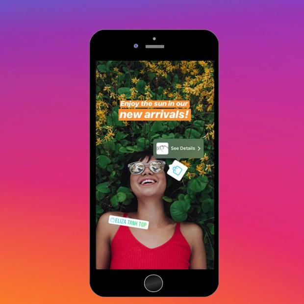 Imagen 001 Instagram Shopping Tab Stories