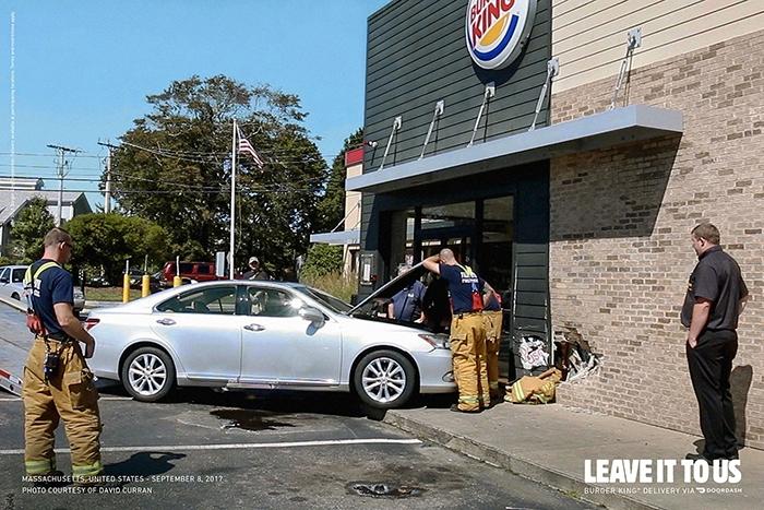 Imagen 002 Burger King servicio delivery accidentes