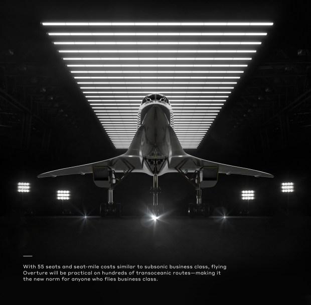 Imagen 003 Overture avion supersonico Boom