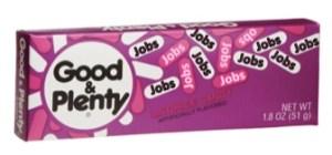 Jobs - Good & Plenty