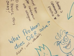 What problem does OER solve?