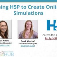 Using H5P to Create Online Simulations