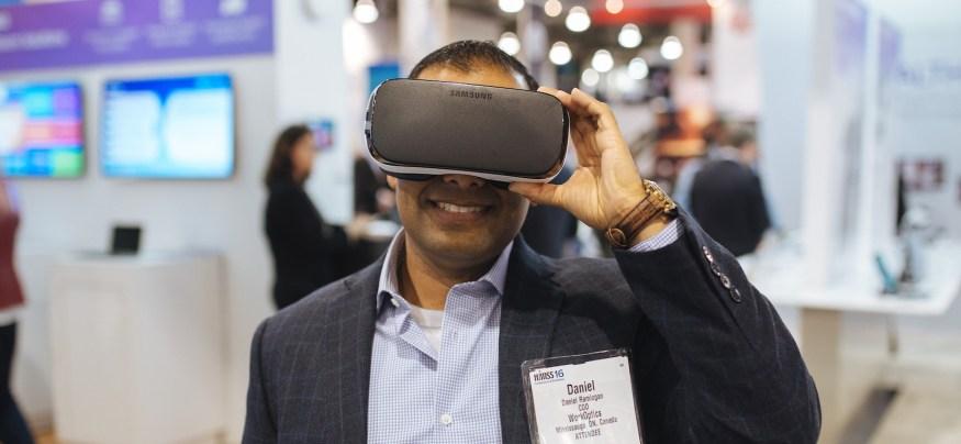 Samsung Gear VR at HIMSS