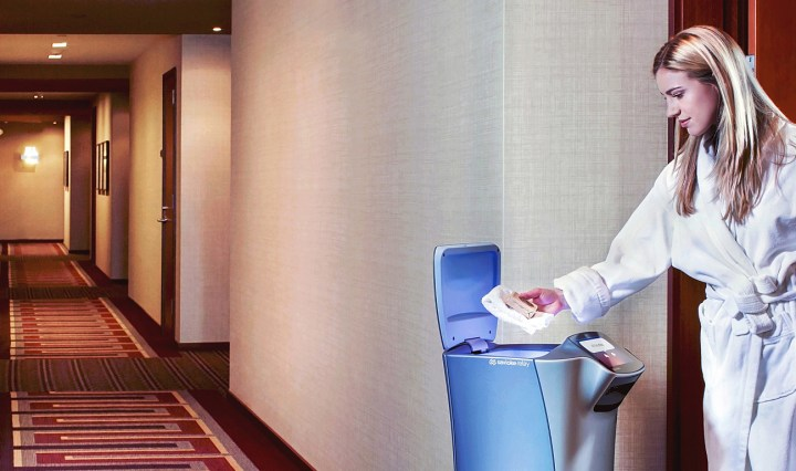 Robot customer service is becoming an interactive option for hotels seeking to embrace new technology.