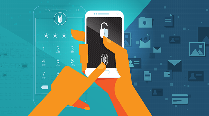 Authentication methods experts advise that a PIN is more effective than the fingerprint unlock when it comes to mobile security.