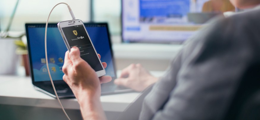 Samsung KNOX is designed from start to finish with security at the forefront.