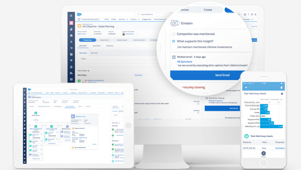 Salesforce expands financial services offering
